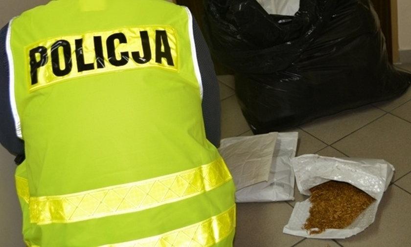 Nielegalny tytoń w rękach policji