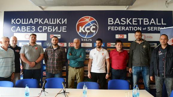 Treneri učesnika košarkaške Superlige