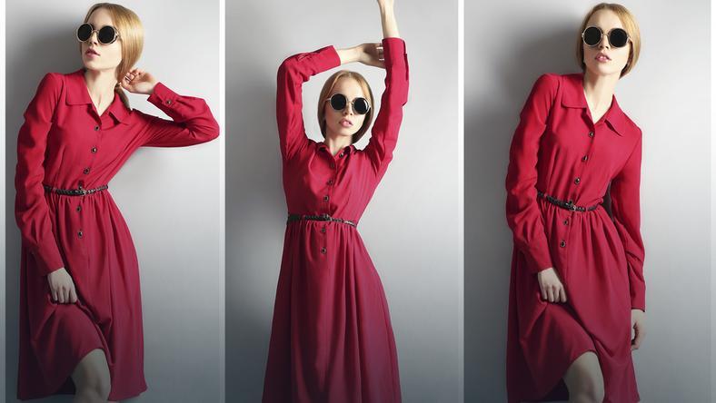 8f944aae23 Sukienka szmizjerka - czyli jaka  - Kobieta