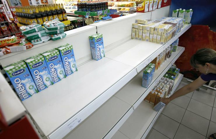 Od subote očekuje se više mleka u rafovima
