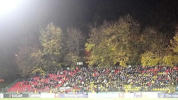 Navijači na stadionu u Viljnusu