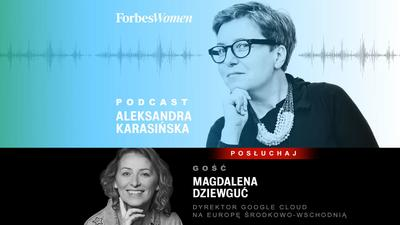 Magdalena Dziewguć: W pandemii zmiana jak przez dekadę [Podcast Forbes Women]