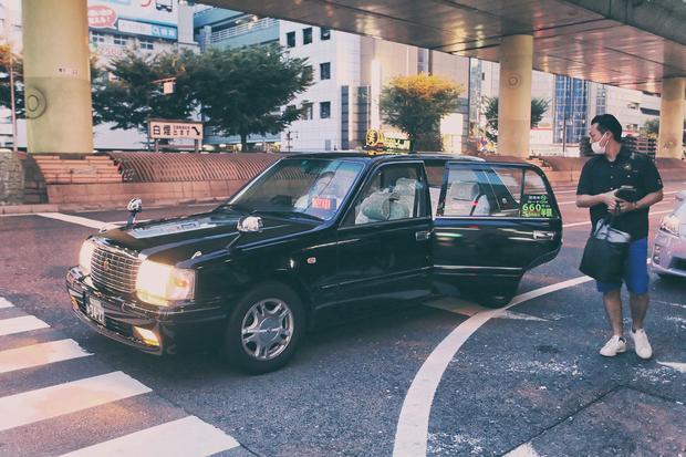 Taksówka w Osace