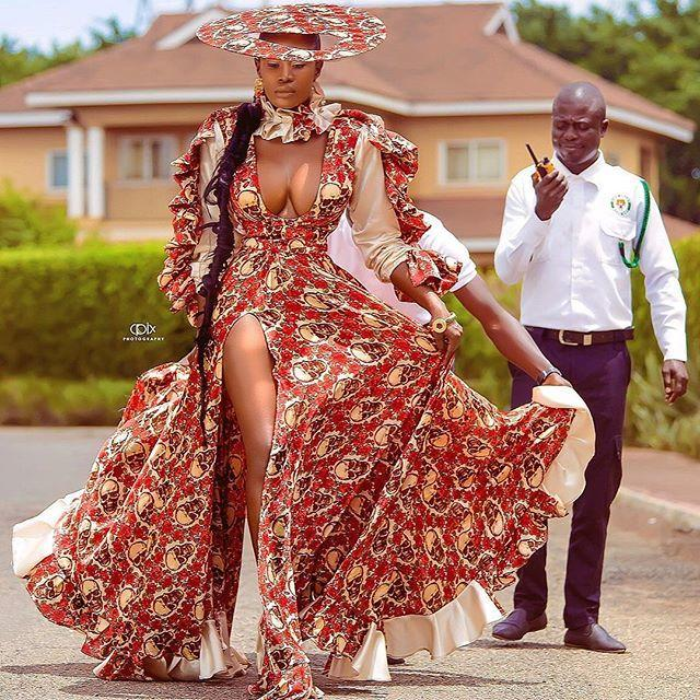 Nana Akua copies Beyonce, slays the African way