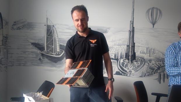 Model satelity PW-Sat2