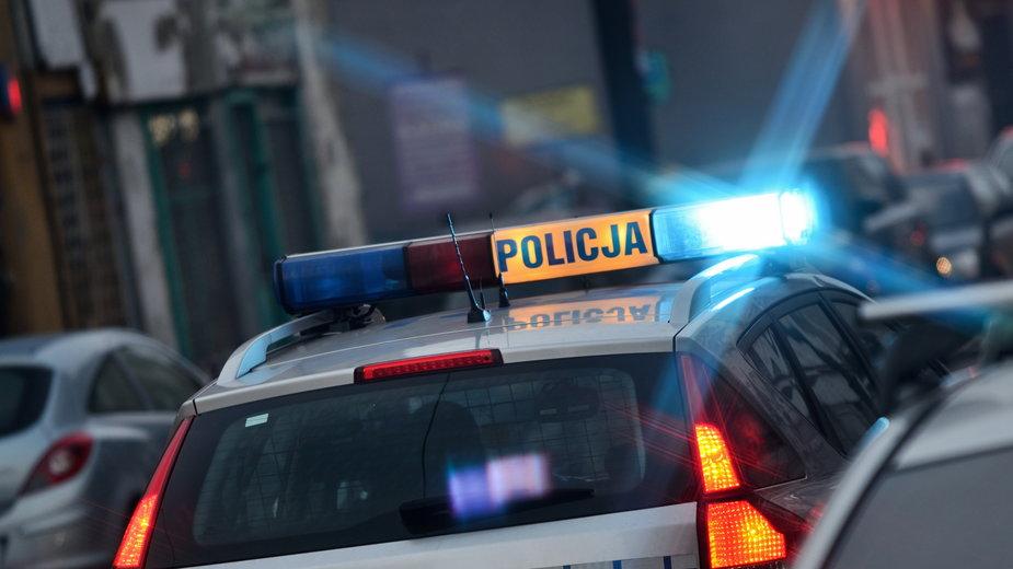 Informacje o bombach zgłoszone zostały na policję