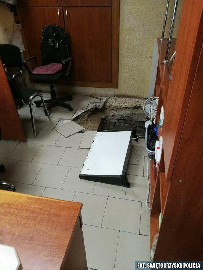 Bracia kasiarze obrobili kantor