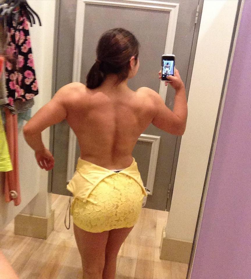 17-letnia kulturystka Tessa Barresi chce być jak Schwarzenegger