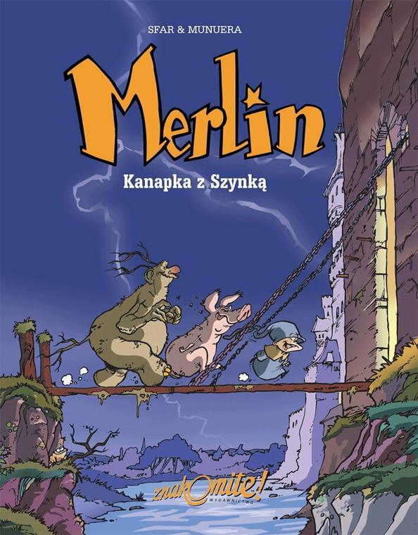 Merlin. Kanapka z szybką (okładka)