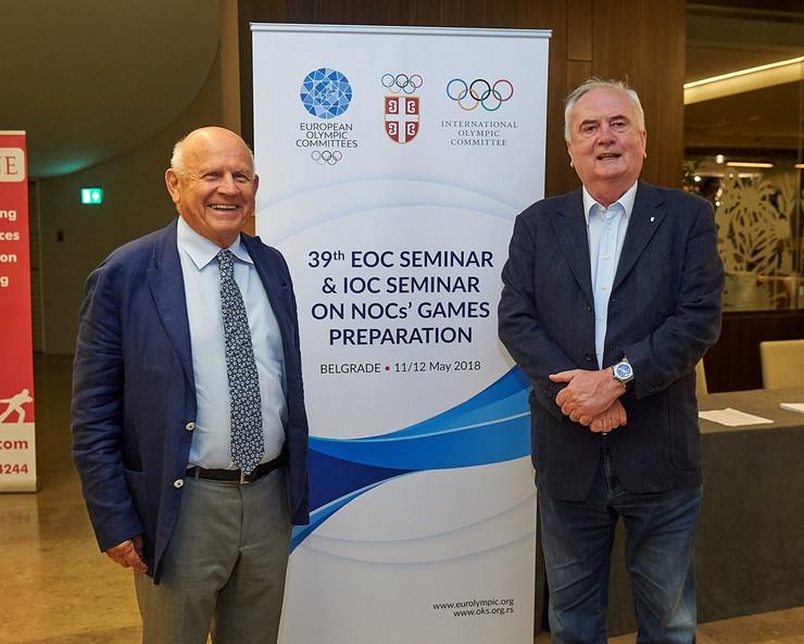 Božidar Maljković i Janez Kocijančić