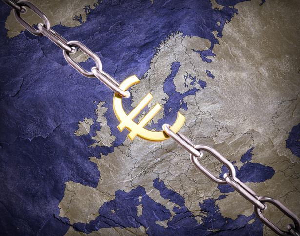 Euro i mapa Europy