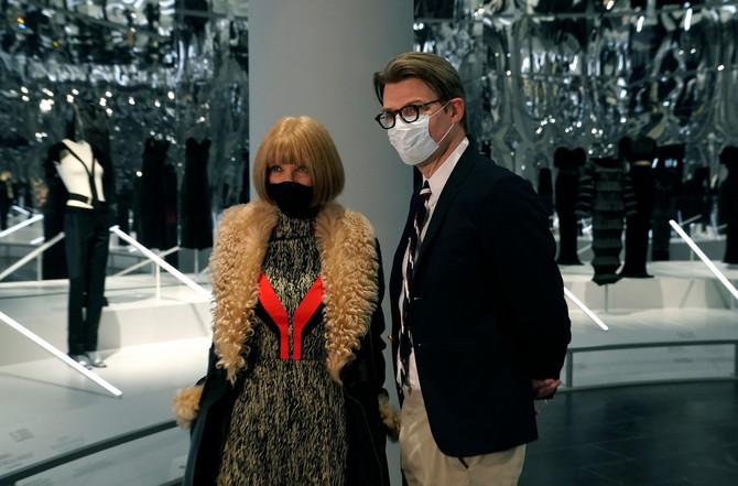 Ana Vintur prošlog meseca na izložbi u Metropoliten muzeju u Njujorku