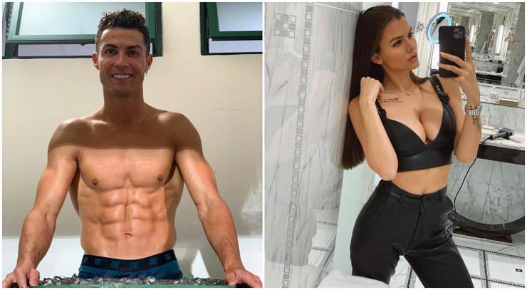 Kristijano Ronaldo i Viki Odinkova