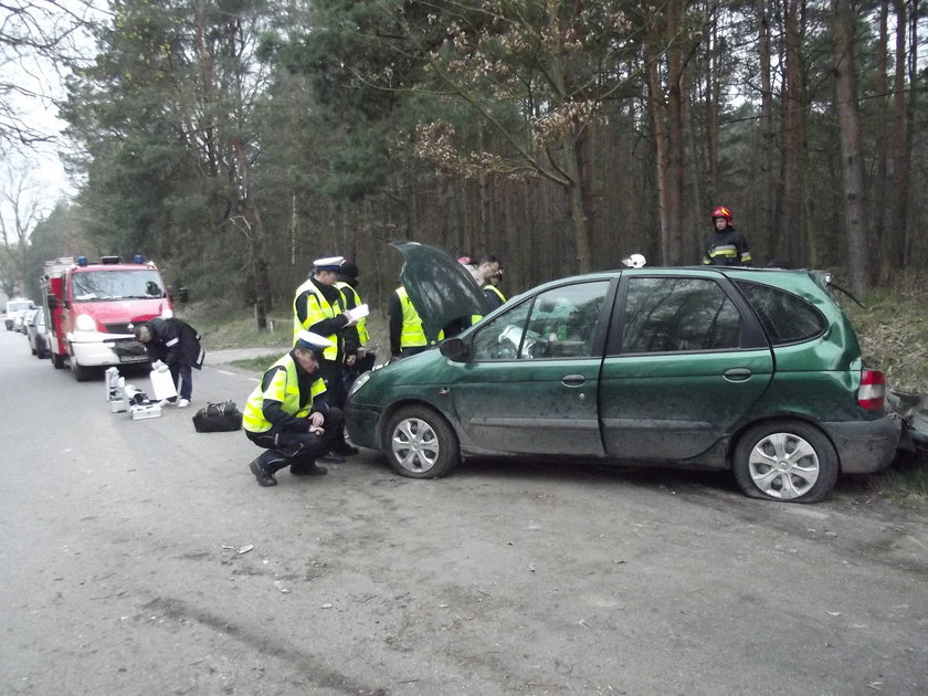 wypadek pod Chełmnem