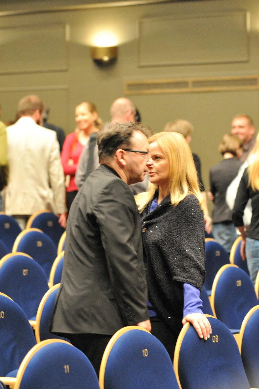 Zbigniew Zamachowski i Monika Richardson w teatrze