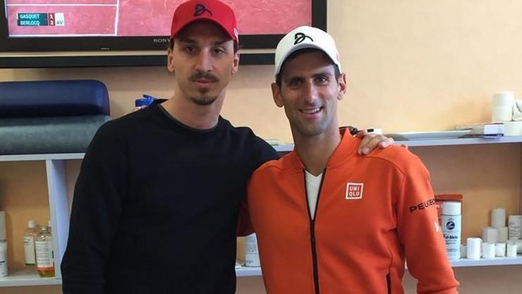 Novak Đoković, Zlatan Ibrahimović