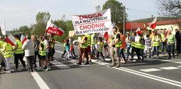 Protest na Podkarpaciu. Mieszkańcy zablokowali drogę