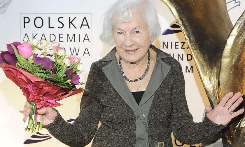 Aktorki, uczcie się od Danuty Szaflarskiej!