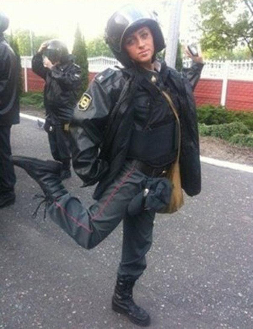Policjantka Katerina z Rosji