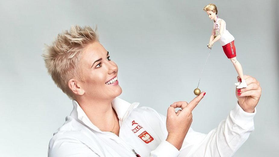 Anita Włodarczyk polską Barbie Shero