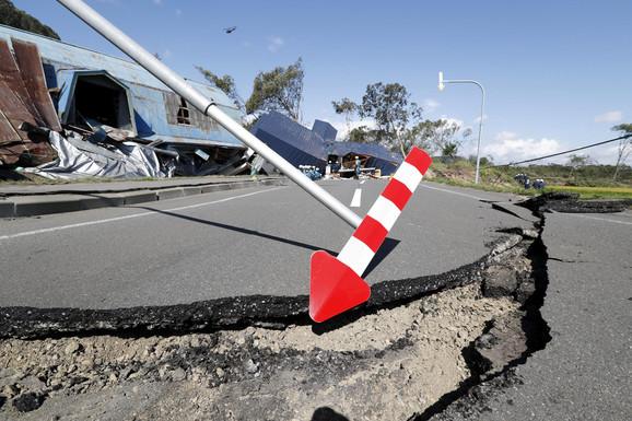 Razraanja posle zemljotresa u Japanu