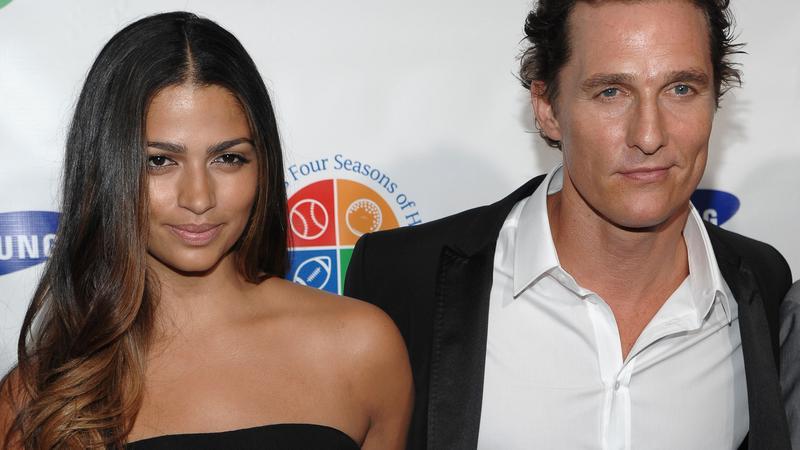 Camila Alves i Matthew McConaughey na gali Four Seasons of Hope