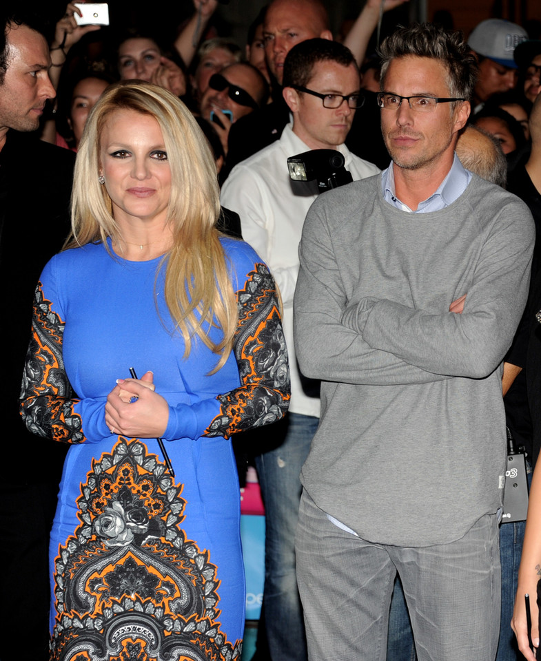 Britney Spears i Jason Trawick / Fot. Getty Images
