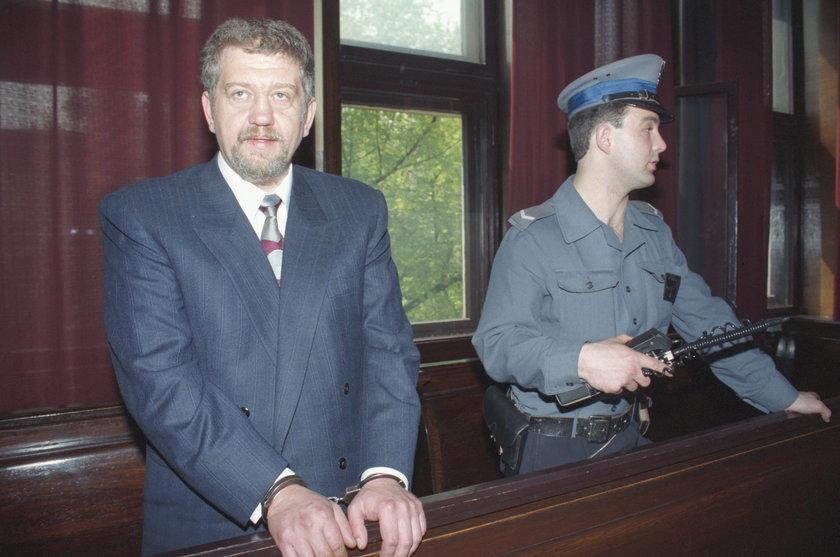 Lech Grobelny w dniu rozpoczęcia  procesu