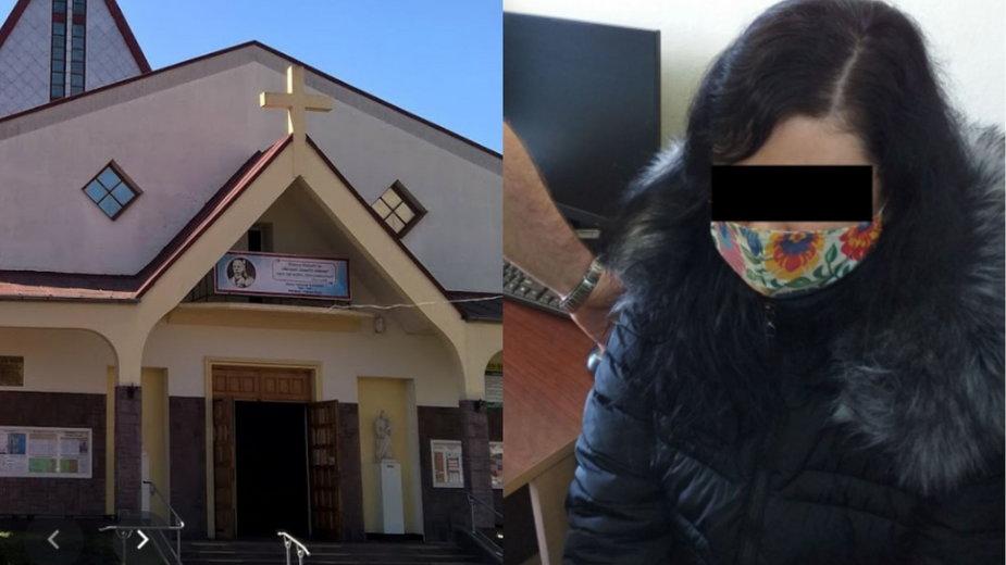 Lublin: Podpalenie kościoła pw. Świętego Krzyża. Zatrzymano 34-latkę