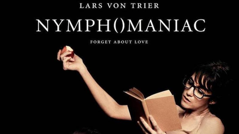 """Nimfomanka"" (reż. Lars von Trier) - plakat"
