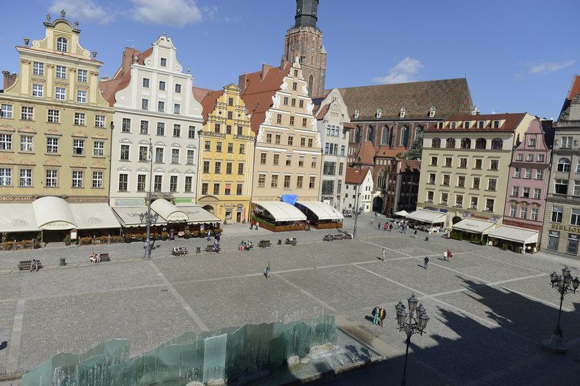 Rynek we Wrocławiu