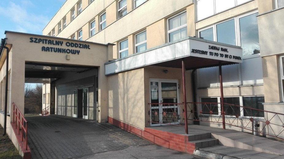 Wieluń, szpital