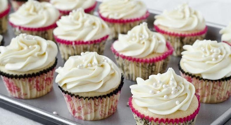 Cup cakes and frosting