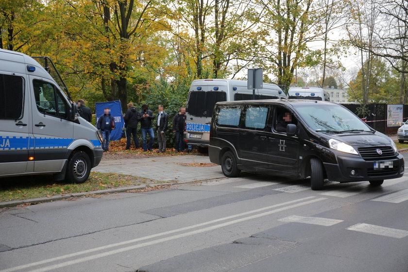 Zwłoki na Kosynierów Gdyńskich w Łodzi