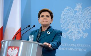 Szydło: Polska jest przeciwnikiem zniesienia sankcji wobec Rosji