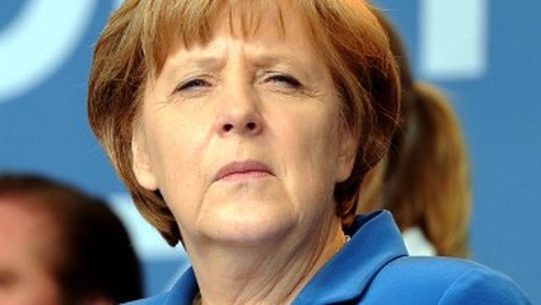 Kanclerz Niemiec Angela Merkel, fot. AFP