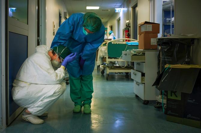 Medicinsko osoblje u Italiji tokom epidemije korona virusa