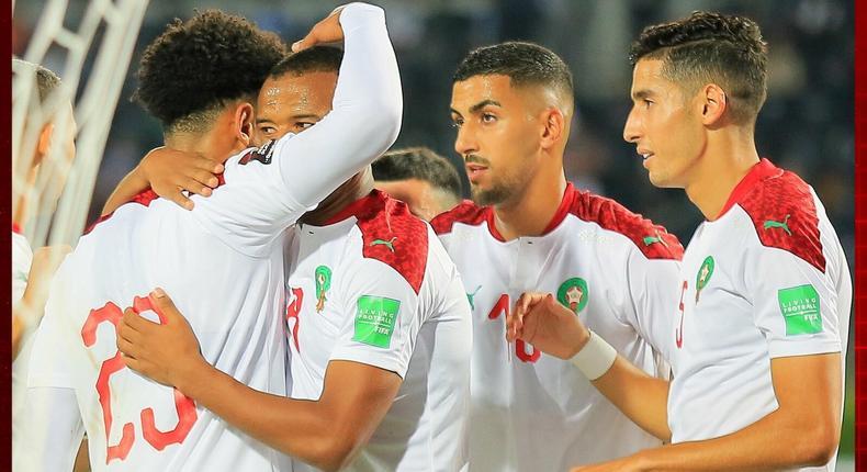 L'équipe nationale du Maroc
