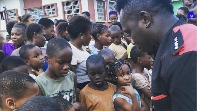 Duncan Mighty gives back to community