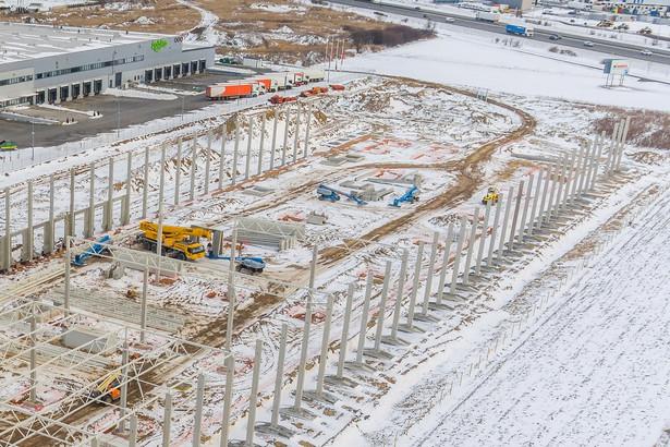Budowa fabryki Sumika Polymer Compounds Europe pod Poznaniem