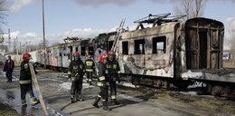 Przy Paczkowskiej spłonął wagon