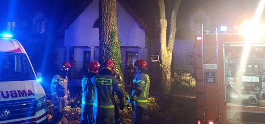 Tragedia w domu opieki społecznej w Siennicy. Nie żyją dwie osoby