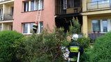 Smutne wieści ze szpitala. Zmarła 5-latka zaczadzona w pożarze w Dąbrowie Tarnowskiej