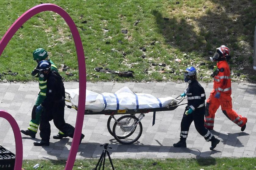 Rośnie liczba ofiar pożaru w Londynie
