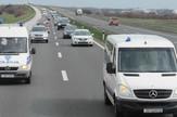 Hrvatska policija na autoputu