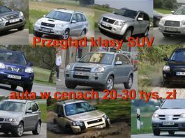 Używane SUV-y - którego warto kupić za 20-30 tys. zł?