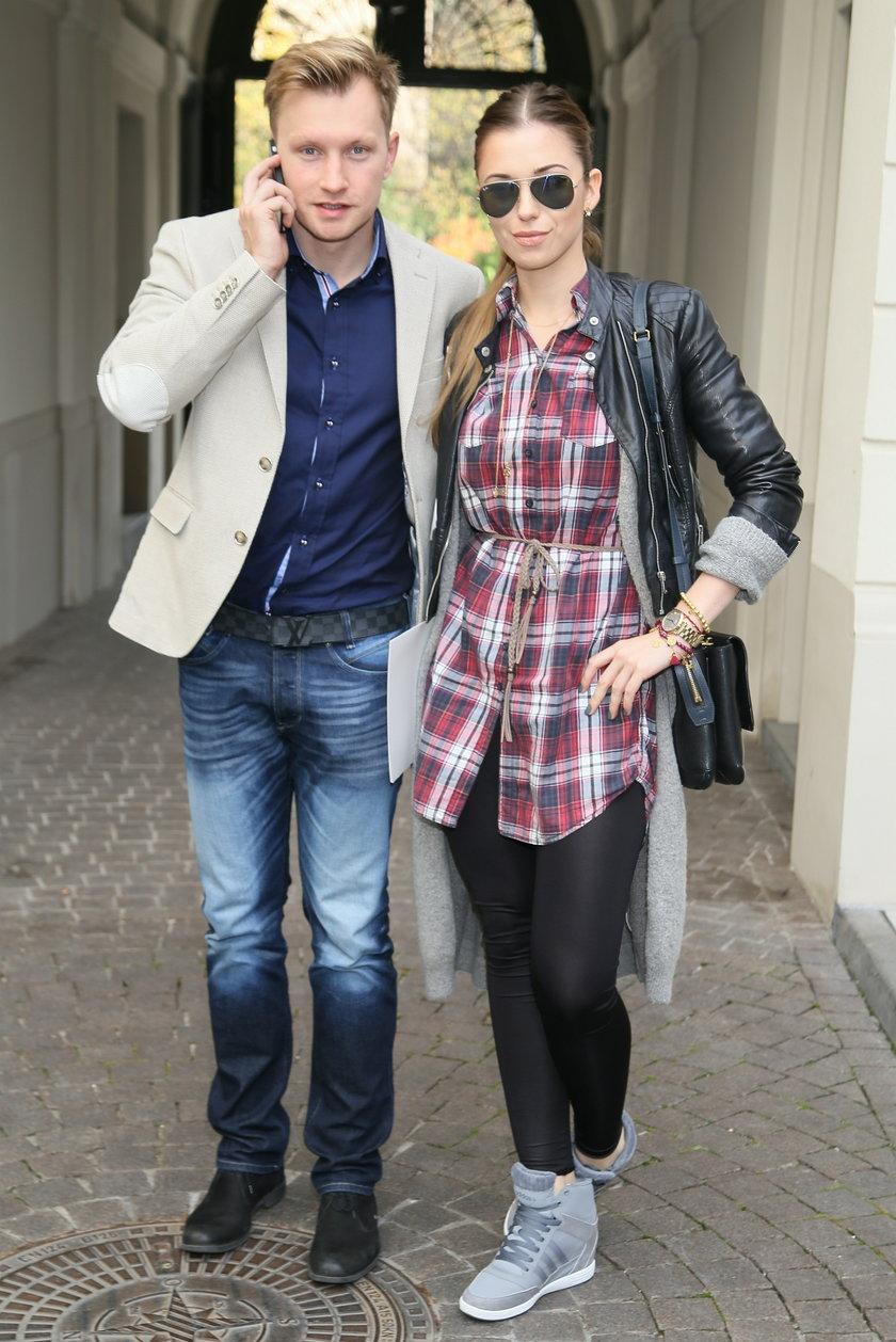 Kuba Wesołowski i Agnieszka Szczurek