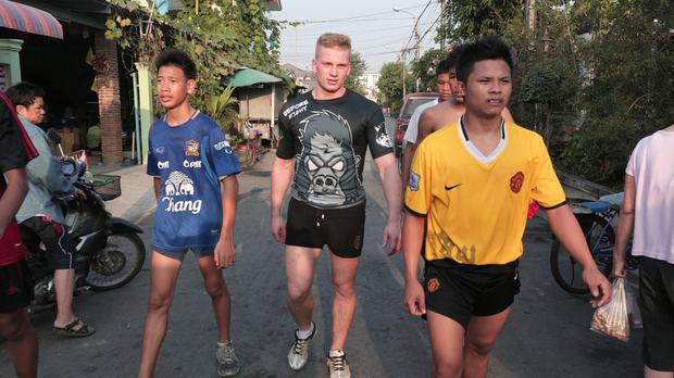 """""""Michniewicz. Inny świat"""" - tajski bokser"""