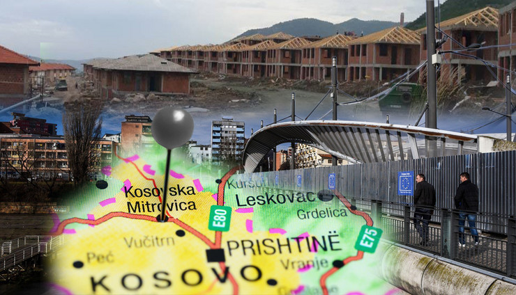 kosovska mitrovica kombo foto RAS Twitter Enver_Hoxhaj, profimedia