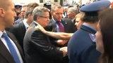 Prezydent chwali działania BOR w Łucku